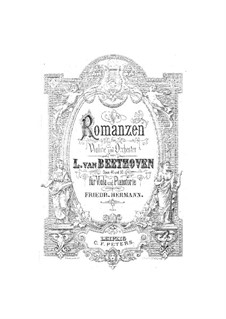Romance for Violin and Orchestra No.2 in F Major, Op.50: Version for viola and piano by Ludwig van Beethoven