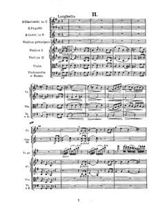 Concerto for Violin and Orchestra in D Major, Op.61: Larghetto by Ludwig van Beethoven
