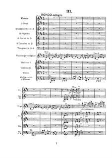 Concerto for Violin and Orchestra in D Major, Op.61: Rondo by Ludwig van Beethoven