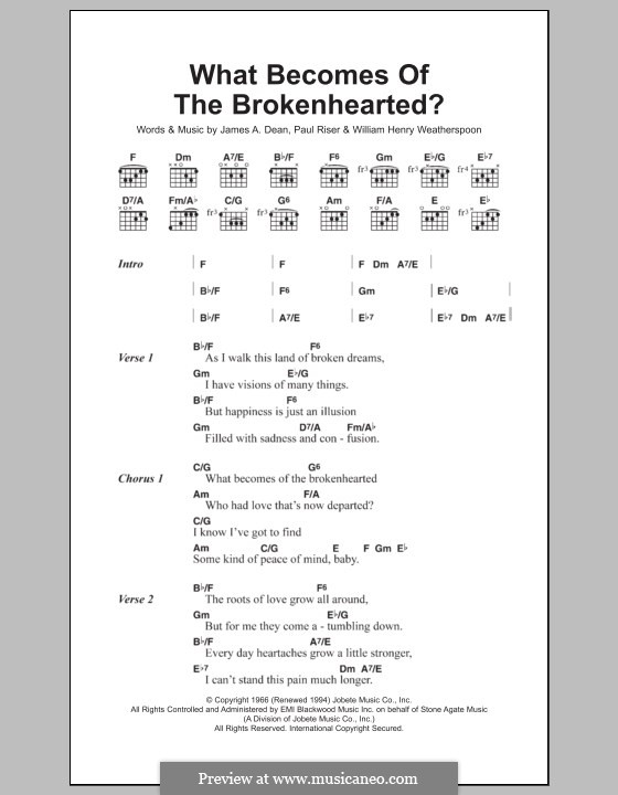 What Becomes of the Broken Hearted (Jimmy Ruffin) by J.A. Dean, P ...