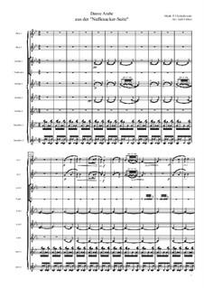 No.5 Arabian Dance: For flute octet by Pyotr Tchaikovsky