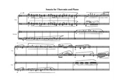 Sonata for Theremin and piano, MVWV 755: Sonata for Theremin and piano by Maurice Verheul