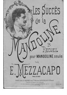 Les Succès de la Mandoline: 2e recueil by Eduardo Mezzacapo