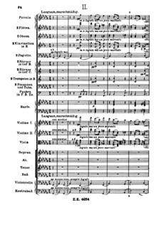 A German Requiem, Op.45: Movement II by Johannes Brahms