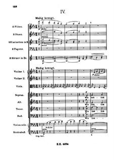 A German Requiem, Op.45: Movement IV by Johannes Brahms