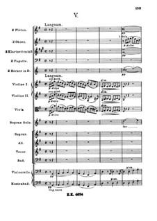 A German Requiem, Op.45: Movement V by Johannes Brahms