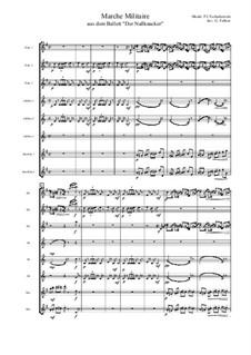 No.2 March: For flute octet by Pyotr Tchaikovsky