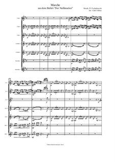 No.2 March: For flute septet by Pyotr Tchaikovsky