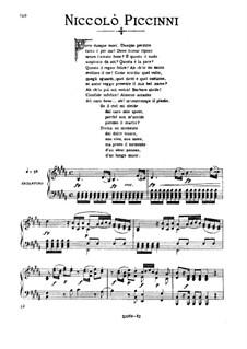Se il ciel mi divide: Medium voice in D Minor by Nicola Piccini