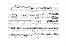 Act II. Antract and Elisabeth's Aria: Arrangement for piano four hands by Richard Wagner