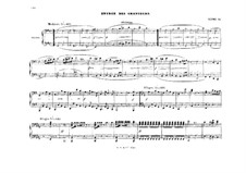 Fragments: Act II, Scene IV, for piano four hands by Richard Wagner