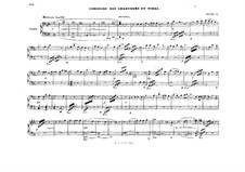 Act II. Choir Singers and Finale: Arrangement for piano four hands by Richard Wagner