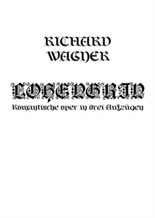 Fragments: Introduction and Act I by Richard Wagner