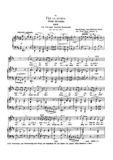 Griselda: Per la gloria d'adorarvi (low voice in D Major) by Giovanni Battista Bononcini