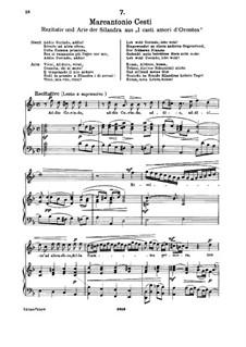 Addio, Corindo, Addio!... Vieni, Alidoro, vieni (Soprano): Addio, Corindo, Addio!... Vieni, Alidoro, vieni (Soprano) by Pietro Antonio Cesti
