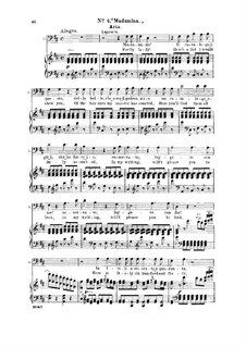 Madamina! il catalogo è questo: For bass and piano by Wolfgang Amadeus Mozart