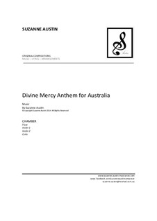 Divine Mercy Anthem for Australia: For chamber by Suzanne Austin