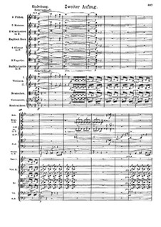 Fragments: Act II by Richard Wagner