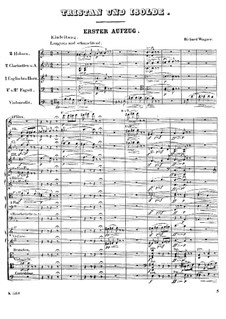 Fragments: Introduction to Act I by Richard Wagner
