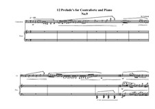 12 Prelude's for Contraforte and Piano: Prelude No.9, MVWV 750 by Maurice Verheul
