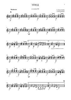 Этюд до мажор No.8: Этюд до мажор No.8 by Alexander Zatynchenko