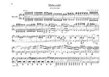Der Beherrscher der Geister (The Ruler of the Spirits), J.122 Op.27: For piano four hands by Carl Maria von Weber