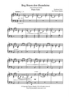 Bog Braon don't Seanduine: For solo piano by folklore