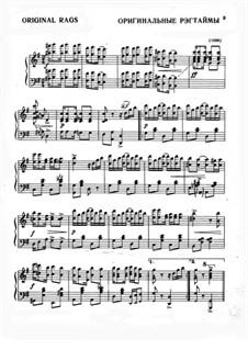 Original Rags: For piano by Scott Joplin