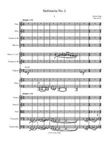 Sinfonietta No.2: Sinfonietta No.2 by Jordan Grigg