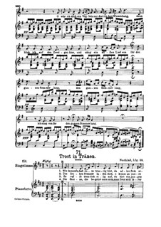 Trost in Tränen (Consolation in Tears), D.120: For high voice and piano by Franz Schubert