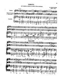Seven Sonatas for Violin, Viola da Gamba and Basso Continuo: Sonata No.6 in E Major, BuxWV 264 Op.2 by Dietrich Buxtehude