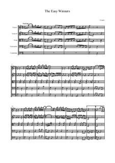 The Easy Winners: For string quintet by Scott Joplin