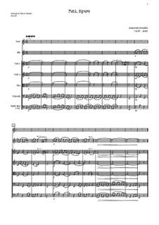 Pieta Signore: For tenor, solo oboe and strings - score by Alessandro Stradella