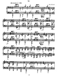 Ten Preludes, Op.23: Prelude No.5 in G Minor by Sergei Rachmaninoff