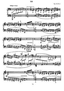 Thirteen Preludes, Op.32: Prelude No.1 in C Major by Sergei Rachmaninoff
