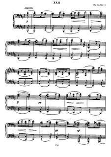 Thirteen Preludes, Op.32: Prelude No.11 in B Major by Sergei Rachmaninoff