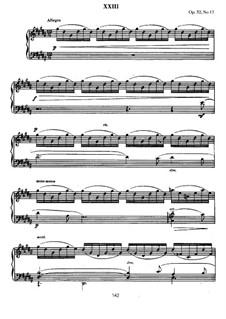 Thirteen Preludes, Op.32: Prelude No.12 in G Sharp Minor by Sergei Rachmaninoff
