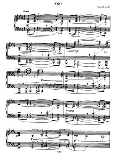 Thirteen Preludes, Op.32: Prelude No.13 in D Flat Major by Sergei Rachmaninoff