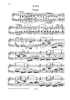 Schach dem König, Op.70: Act II by Ignaz Brüll