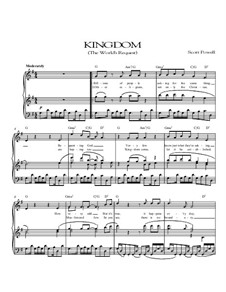 Kingdom (The World's Request): For voice and piano by Scott Powell