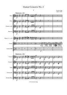 Guitar Concerto No.2: Guitar Concerto No.2 by Jordan Grigg