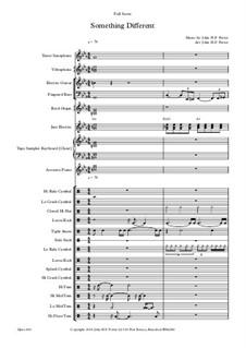 Something Different, Op.246: Something Different by JHFP