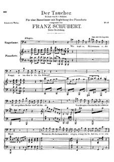 Der Taucher (The Diver), D.111: Der Taucher (The Diver) by Franz Schubert