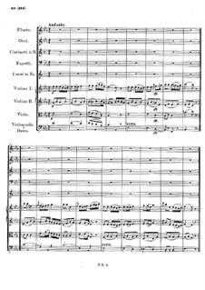 Symphony No.2 in B Flat Major, D.125: Movement II by Franz Schubert
