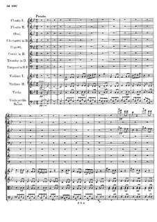 Symphony No.2 in B Flat Major, D.125: Movement IV by Franz Schubert