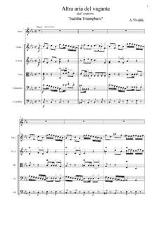 Juditha triumphans: Altra aria del Vagante (C Minor) by Antonio Vivaldi