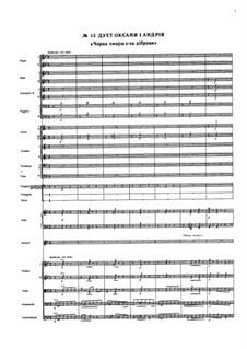 Zaporozhets za Dunayem: Duet by Semen Hulak-Artemovsky