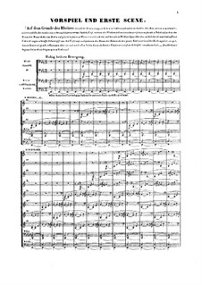 The Rhine Gold, WWV 86a: Introduction and scene I by Richard Wagner