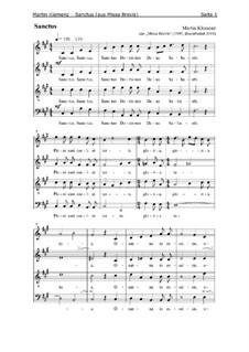 Missa Brevis (1995): Sanctus by Martin Klemenz