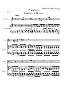 Präludium: Score by Johann Caspar Ferdinand Fischer